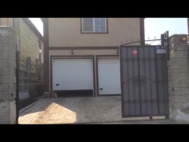Автоматика для откатных ворот и двое ворот в гараж.