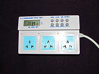 3-х канальный программируемый цифровой таймер недельный , фото 1