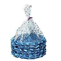 Тойбастар коржын (голубой цвет), 34 см