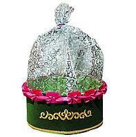 Тойбастар коржын (тёмно-зелёный цвет), 30 см