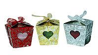 Полотенце в подарочной упаковке (три цвета), 8 см