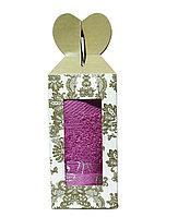 Полотенце в подарочной упаковке (розовое), 70*30 см