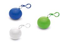 Дождевик собирается в шарик под нанесение логотипа