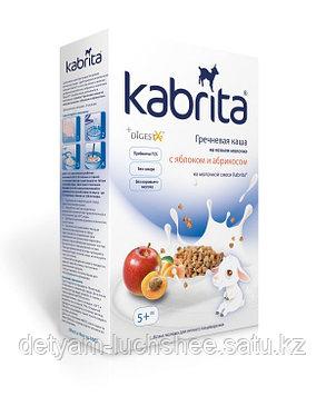 Kabrita® Гречневая каша на козьем молочке с яблоком и абрикосом