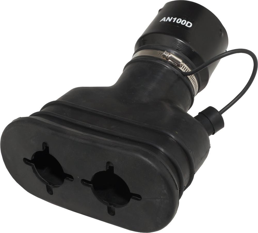 Насадка резиновая овальная на шланг D=100 мм NORDBERG AN100D