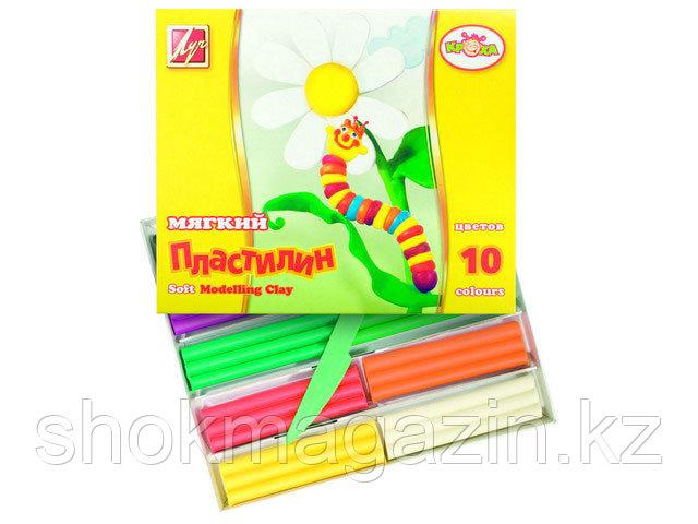 "Пластилин детский мягкий ""Кроха"" 10 цветов"