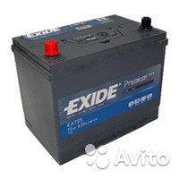 Аккумулятор Exide EA 755 75Ah