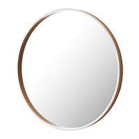 Зеркало СКОГСВОГ белый буковый шпон ИКЕА, IKEA , фото 1