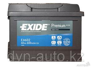 Аккумулятор Exide EA 602 / EA612  60Ah
