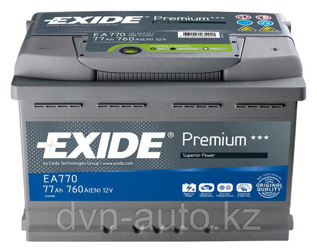 Аккумулятор Exide EA 770 77Ah