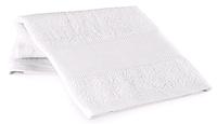 Полотенце х/б под нанесение логотипа белое