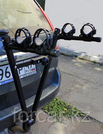 Багажник для перевозки 2-х велосипедов на фаркопе Atlant Twin Rider (Россия), фото 2