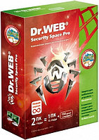 Dr.Web Security Space 2 ПК / 12 мес