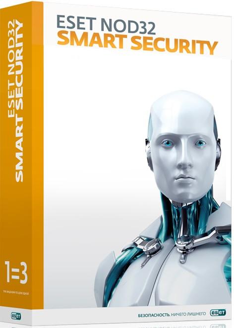 ESET NOD32 Smart Security 3 ПК / 12 мес. или продление на 20 мес.