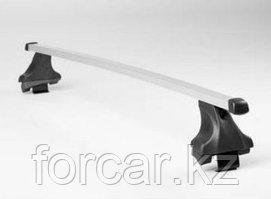 Багажник Atlant для гладкой крыши с креплением в штатные места, прямоугольные дуги, тип опоры E