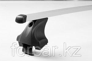 Багажник Atlant для гладкой крыши с креплением за дверной проем, прямоугольные дуги, опора E