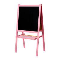 Доска-мольберт МОЛА розовый ИКЕА, IKEA