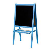 Доска-мольберт МОЛА, синий, ИКЕА, IKEA