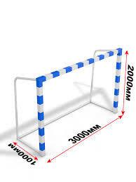 Ворота для минифутбола/гандбола передвижные с противовесом, фото 2