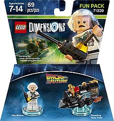 71230 Lego Dimensions Назад в будущее (Fun Pack)