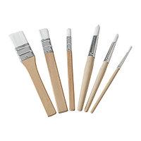 Набор кистей МОЛА 6 шт. ИКЕА, IKEA, фото 1