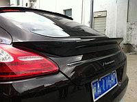 Карбоновые спойлеры на Porsche Panamera