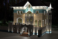 Архитектурное освещение зданий.