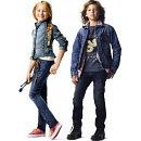 Джинсовые куртки и жилеты