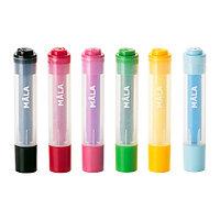 Штампы детские МОЛА 6 шт. разные цвета ИКЕА, IKEA, фото 1