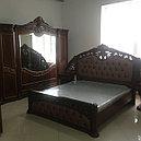 ШАХ спальный гарнитур, орех матовый, фото 5
