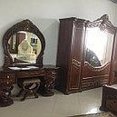 ШАХ спальный гарнитур, орех матовый, фото 4
