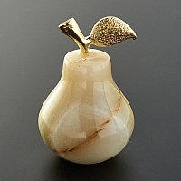Груша оникс (природный натуральный камень)