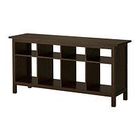 Стол консольный ХЕМНЭC черно-коричневый ИКЕА, IKEA  , фото 1