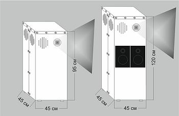 Тумба для размещения проектора