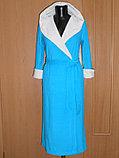 Халат женский длинный с капюшоном. Махра. Россия. , фото 2