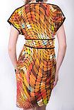 Эффектное платье полуприлегающего силуэта в яркой цветовой гамме. Размеры - 42, 46., фото 3