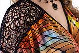 Эффектное платье полуприлегающего силуэта в яркой цветовой гамме. Размеры - 42, 46., фото 4