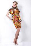 Эффектное платье полуприлегающего силуэта в яркой цветовой гамме. Размеры - 42, 46., фото 2