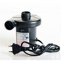 Электрический насос 2 в 1 (розетка + прикуриватель)  для надувной мебели HT-202