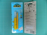 Набор OLFA Нож перовой с лезвиями KB-3, 4мм, 30шт