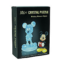 """3d Crystal Puzzle головоломка """"Микки Маус"""""""