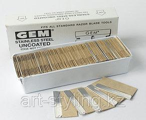 Нержавеющие стальные лезвия Gem для чистки стекол (100шт.)