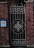 Ворота металлические с узором Версаче, фото 2