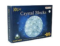 """3d Crystal Puzzle головоломка """"Земля с подсветкой"""""""