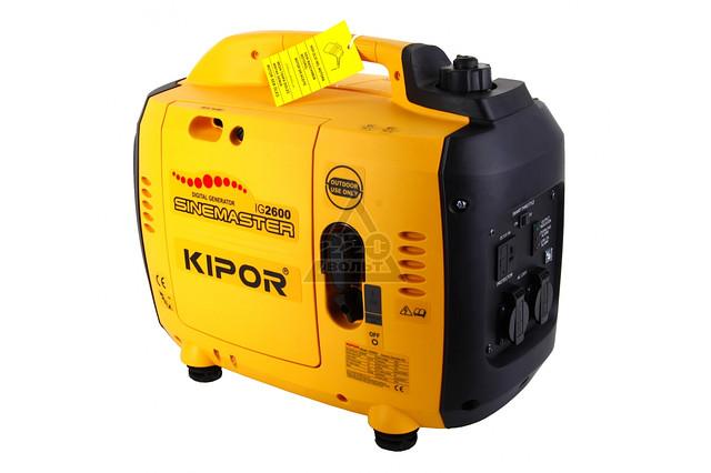 Генератор IG2600 KIPOR  (Номинальная мощность: 2,4 кВт, Максимальная мощность: 2,6 кВА)