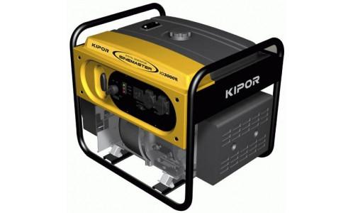 Генератор IG3000E KIPOR  (Номинальная мощность: 2,8 кВт, Максимальная мощность: 2,8 кВА)