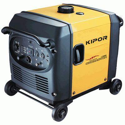 Генератор IG4000 KIPOR  (Номинальная мощность: 4 кВт, Максимальная мощность: 4 кВА)