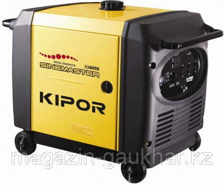 Генератор IG6000 KIPOR  (Номинальная мощность: 5,6 кВт, Максимальная мощность: 6 кВА)
