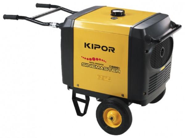 Генератор IG6000h KIPOR (Номинальная мощность: 5,5 кВт, Максимальная мощность: 5,5 кВА)