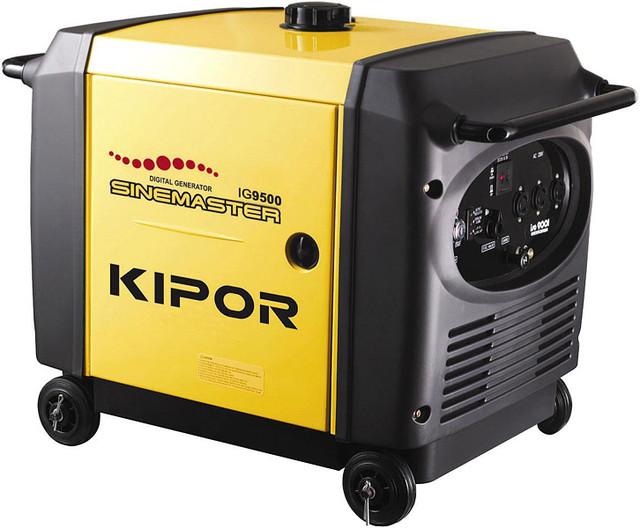 Генератор IG9500 KIPOR (Номинальная мощность: 8,5 кВт, Максимальная мощность: 8,5 кВА)